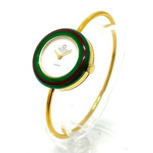 GUCCI Old Gucci Sherry Bezel 5 colors Wristwatch